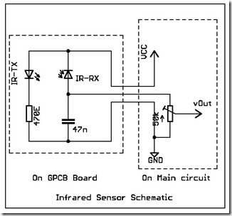 infrared sensor circuit diagram