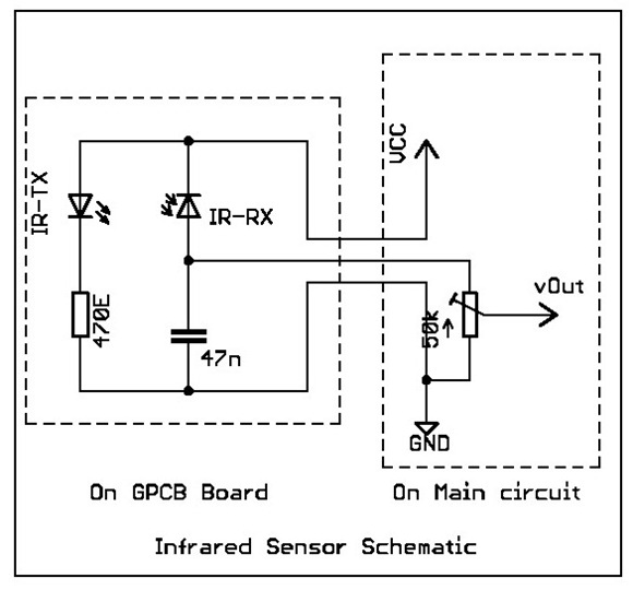 how to make simple infrared sensor modules embedded Ir Motion Detector Schematic infrared (ir) sensor/detector circuit