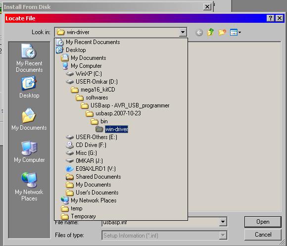драйвер на usbasp 2.0 windows 7